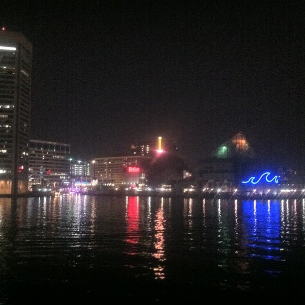 Baltimore by night