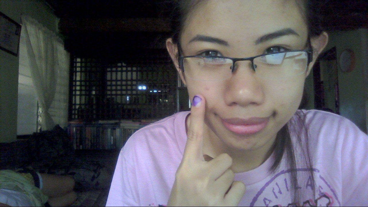 I'm a registered voter. And a first time voter. Sana manalo ang nararapat.