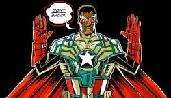Captain America Falcon ferguson