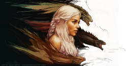 thefanpanda:  Mother of Dragons by *YamaO