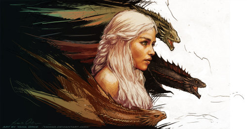 Mother of Dragons by *YamaO
