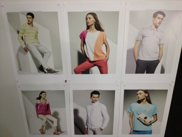 More of our spring color story.  Calvin Klein, NYC.