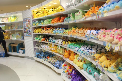 ms-ashri:   Places I'm Itching To Go: Osaka Pokemon Center, Japan  So cool!  ALL THE PLUSHIES WEH  I wanna go there, I wanna buy all stuff there and I wanna never leave again QwQ