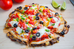 Taco Quesadilla Pizzas by Kevin - Closet Cooking on Flickr.