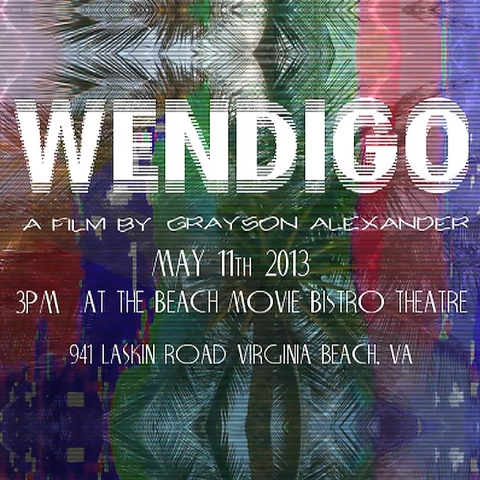 Wendigo premiere. Tomorrow (Sunday, May 11th 2013). At 3. But be there before 3. Like, way before 3.  pRoMo pRoMo pRoMo: http://youtu.be/8c55WzKzgJY