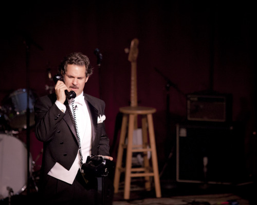 "NEW FROM THE POD F. TOMPKAST EXTRASODE: ""A Phone Call For Mr. Tompkins"" From The Paul F. Tompkins Show 10th Anniversary Special 10 March 2012 Brian Whalen is one of my oldest and dearest pals. I loved doing this sketch with him, inspired by his love of imitating George Harrison's sitar songs. Also, you might want to listen to this one more than once, because Eban Schletter goes reference crazy under the ramble before the sketch. I missed half of the stuff he played the first time, and I was there. SUBSCRIBE. DOWNLOAD. STITCH.  Photo: Liezl Estipona"