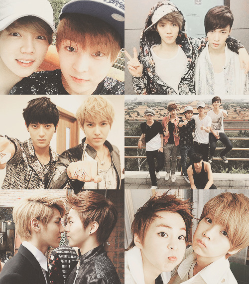 EXO-M unreleased pictures