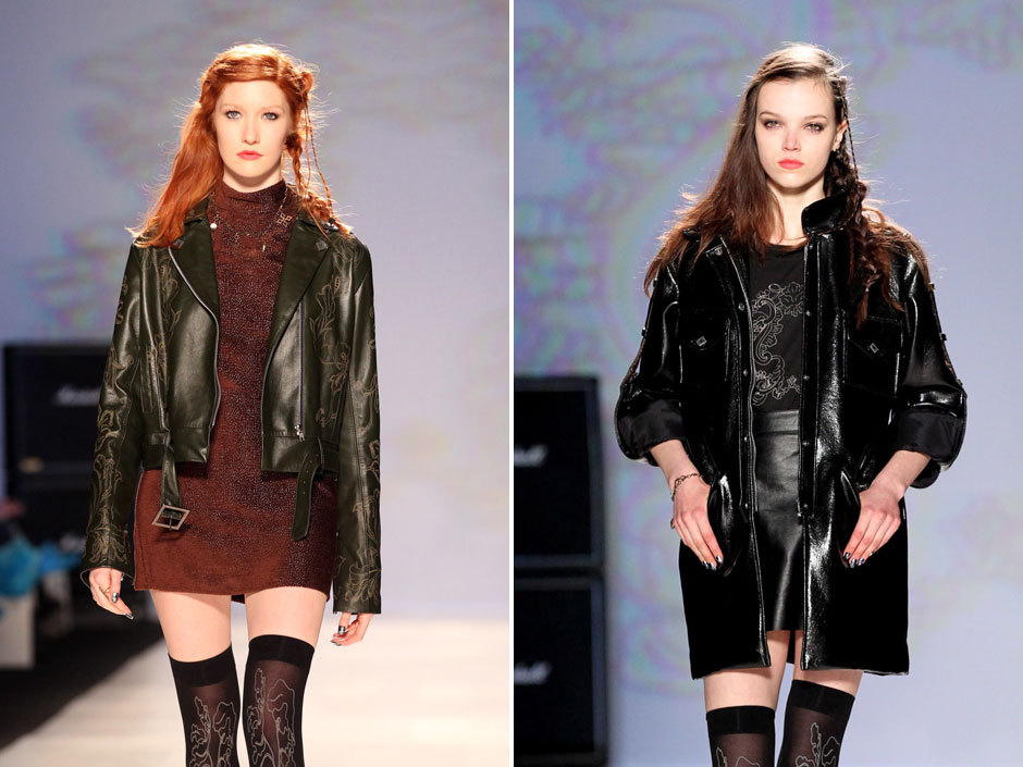 npostlife:  Top trends from Toronto Fashion Week's fall/winter 2013 showsSome of the more interesting trends to emerge at World MasterCard Fashion Week a few days ago in Toronto? Biker jackets, for one. And wearing white for winter is another. And we've got a bunch more that'll scratch your style itch, with a full gallery of pieces from the shows.[Chris Young/Canadian Press]