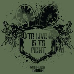 To live is to fight- one of my favorite designs where the phrase was translated from Latin. #brandedbaron #throwbackthursday #tbt #graphicdesign
