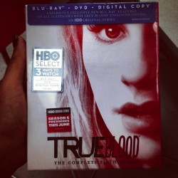 I have HBO why did I buy this? #TrueBlood #IloveEricNorthman