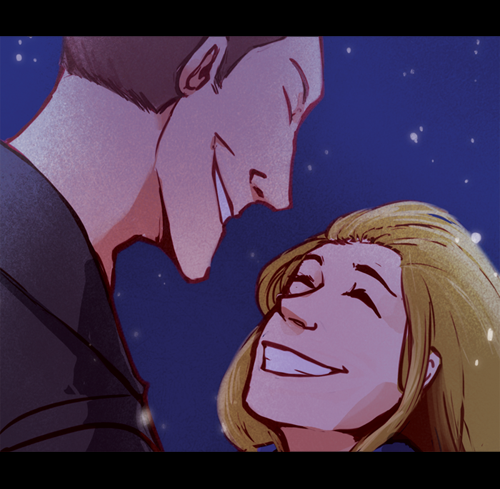 Another preview of a fanart piece I will be contributing to an Doctor Who fanbook! If you are curious about, check out the dA group.I will post the full version of this picture when the book comes out :>