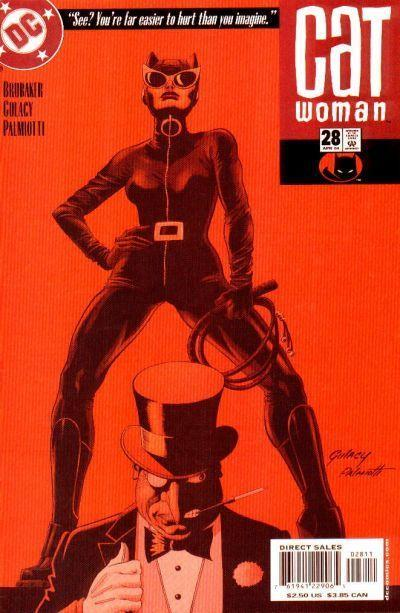 Catwoman v3 #28, April 2004, written by Ed Brubaker, penciled by Paul Gulacy
