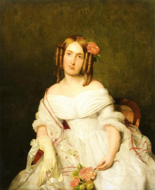 'Die Tochter des Freiherren von Göcsy' - Ferdinand Georg Waldmüller.