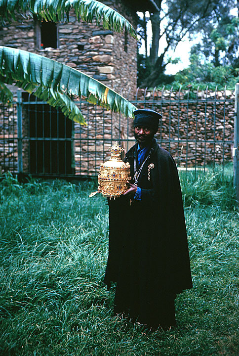 exiledpoetssociety:  Priest of the Holy Treasury of the Cathedral in Axum Cordell, Dennis