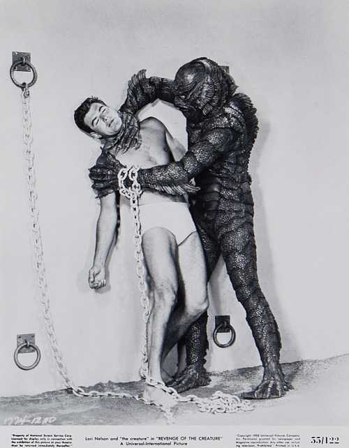 monsterman:  Revenge of the Creature (1955)