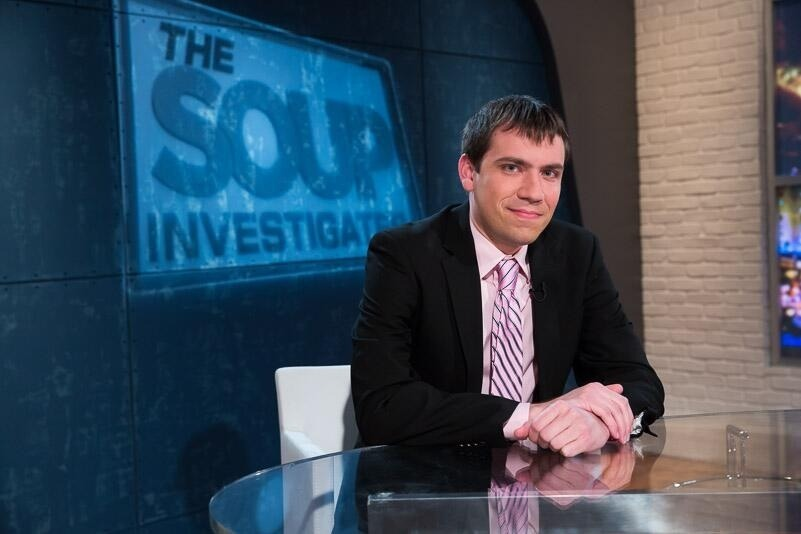 Tonight at 1030pm on E! It's The Soup Investigates with Joel McHale, me, Michael Kosta, and Sarah Tiana! Please watch!!!!!