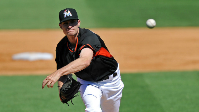 Andrew Heaney might be the answer for the Marlins and Fantasy owners alike. (USATSI)