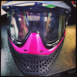 Yayy new mask! :D #paintball #tankspaintball #reffing #work #paintballmask