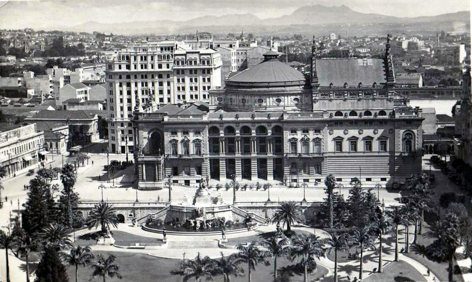 The Municipal Theater, Sao Paulo
