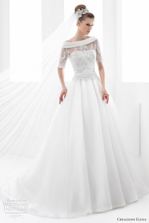http://www.weddinginspirasi.com/2013/04/24/creazioni-elena-2013-wedding-dresses/
