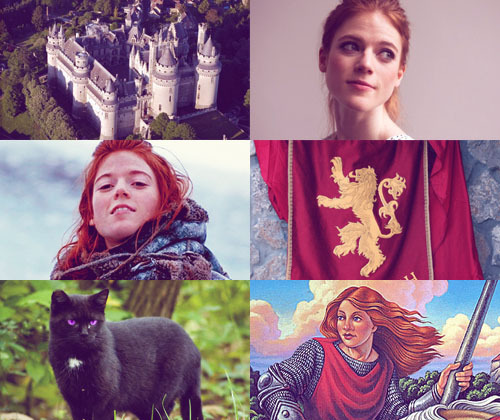 "retrousse:  alanna of trebond (and pirate's swoop and olau) | rose leslie   ""D'you think I want to be a lady? 'Walk slowly, Alanna. Sit still, Alanna. Shoulders back, Alanna.' As if that's all I can do with myself! There has to be another way.""  tamora pierce fancast."