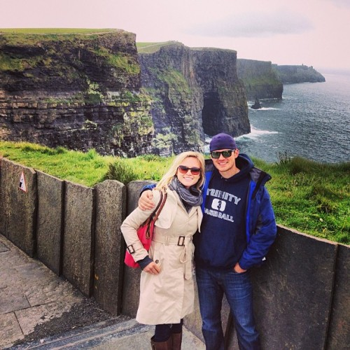 at Cliffs of Moher
