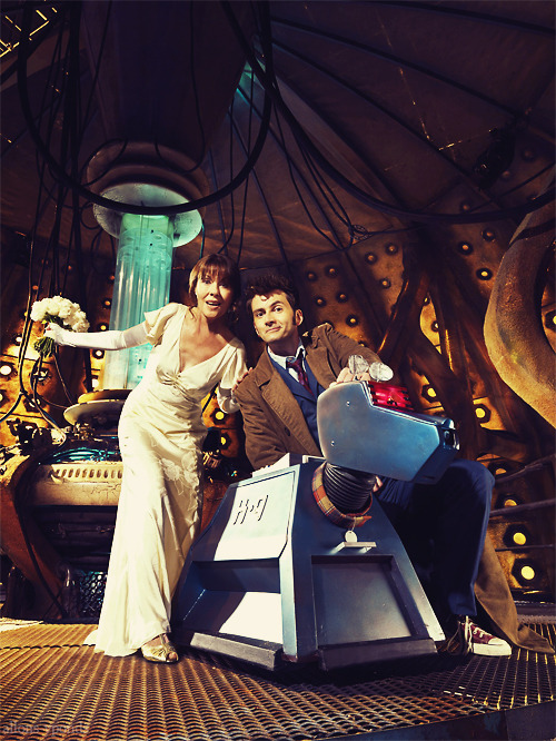doctorwho:   Sarah Jane, K-9, and Ten.