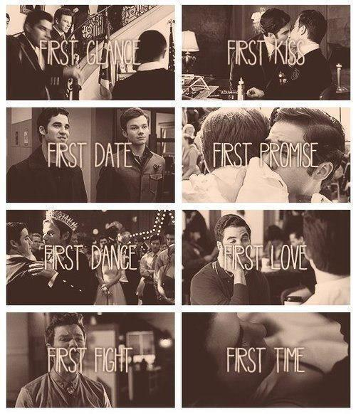 klaine1226:  there first's