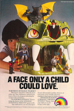 AD&D Fortress Of Fangs Playset (1983)
