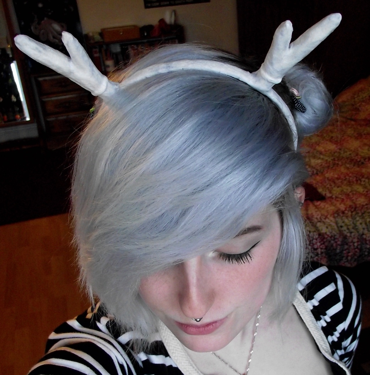 I'm making fawn antlers and that is nothing to do with my FMP and I still have loads of things to do for people. But this is them so far.