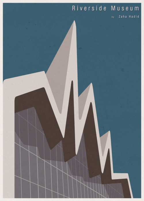 Iconic Architecture Illustrations By André Chiote