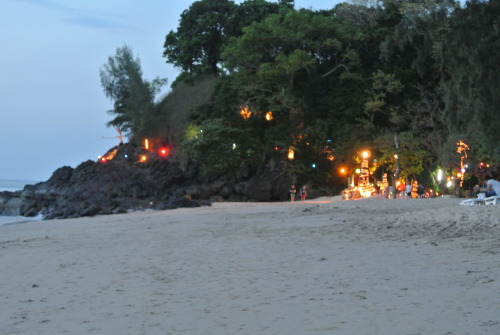 Thailand, beach party.