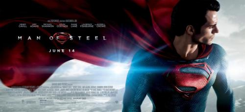 "New Banner For ""Man of Steel"" Warner Bros. has released a new banner for Man of Steel, showing off Henry Cavill as the man himself, as well as some lovely cape work. I really like this banner, actually, with the simplicity of the image being what makes it striking in my opinion. I certainly prefer it to the poster released last week. Man of Steel debuts June 14. [Spinoff] —— Featured:  Top 5 TV Asian Girl Crushes Friend Us: Facebook and Twitter"