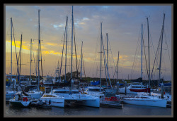 Scarborough Marina at Dusk-4= by Sheba_Also on Flickr.