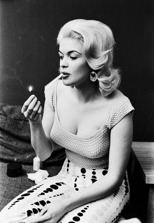 Jayne Mansfield photographed by Peter Stackpole 1956