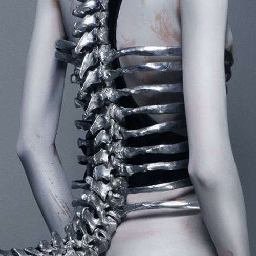 ejakulation:  Spine Corset by Shaun Leane for Alexander McQueen, S/S 1998, photographed by Sølve Sundsbø