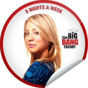 I just unlocked the The Big Bang Theory: Penny sticker on GetGlue                      263407 others have also unlocked the The Big Bang Theory: Penny sticker on GetGlue.com                  Congratulations, your table is now available! You've just unlocked Penny's sticker on GetGlue!  Make your meal a TV dinner with The Big Bang Theory, now on 5 Nights a Week! Share this one proudly. It's from our friends at Warner Bros. Television.