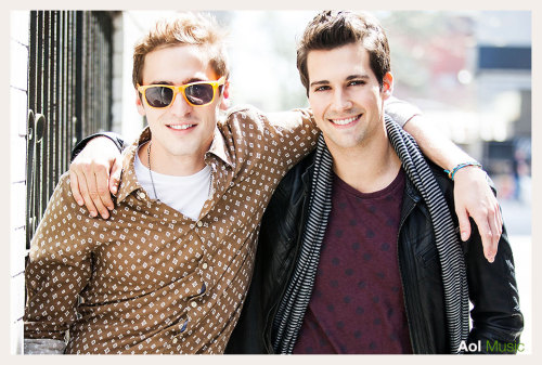 just photographed kendall and james from big time rush, check out aol music later today for more photos.  http://blog.music.aol.com/
