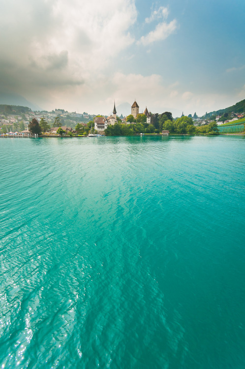 travelingcolors:  Spiez | Switzerland (by Billy Richards)