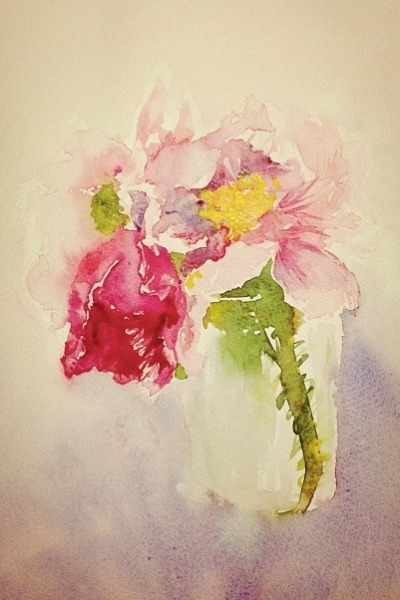 dayangzhang:  Messy in a watercolour way