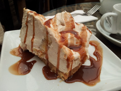 Banoffee Cheesecake from Sara's Tea Garden, Leigh-On-Sea, Essex