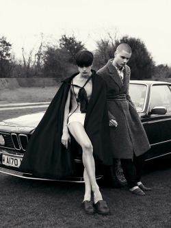 Photo Brett Lloyd for Novembre Magazine SS13.  Styling Tom Guinness