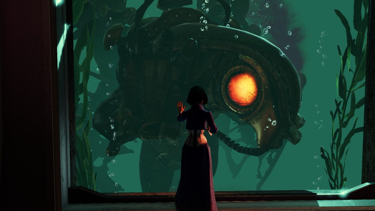 uglymod:  just finished bioshock infinite OuO I AM IN LOVE WITH SONGBIRD OK?!?! <333