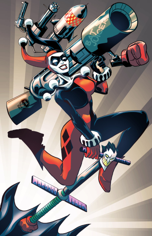 tights-and-capes:  Harley Quinn by Eryck Webb