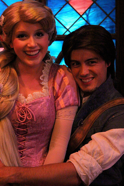 Flynn and Rapunzel on Flickr.
