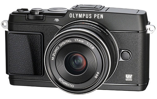 The Original Olympus Pen and the new Pen E-P5