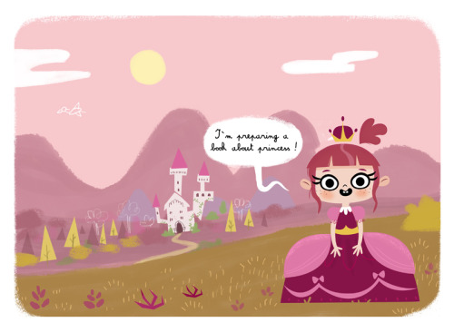 I'm working on princess book! http://beatorres.blogspot.com.es/