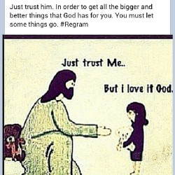 #Repost #Godsgotit #trust #faith