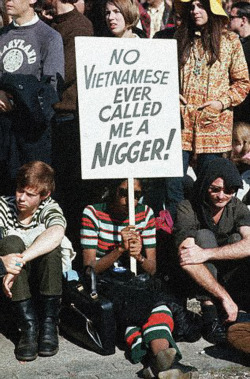 Anti-Racism - Anti-War demonstration, 1967