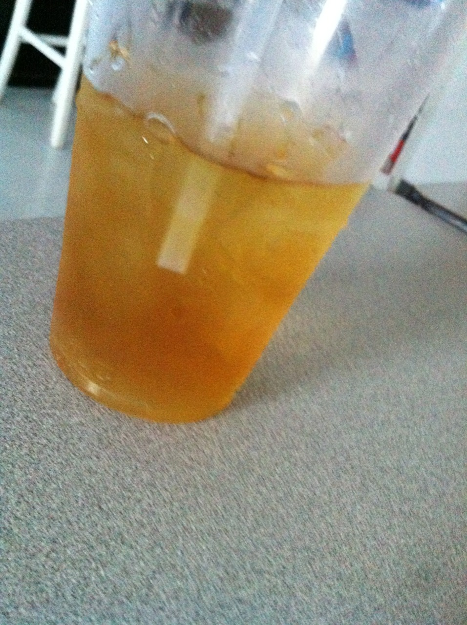 When your girlfriend brings you sweetened/iced/mint tea. 😭 Yes.
